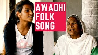 beautiful awadhi folk song from nepal wedding song with meaning
