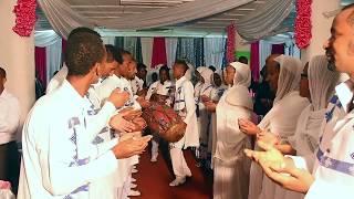 ETHIOPIAN ORTHODOX WEDDING ABRAHAM & MELAT  .ELSHADAY. DON'T miss it.