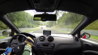 Seat Ibiza cupra PT - Nurburgring - 10 min :)