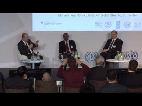 PAGE-Ministerkonferenz - Keynote Conversation Green Investment