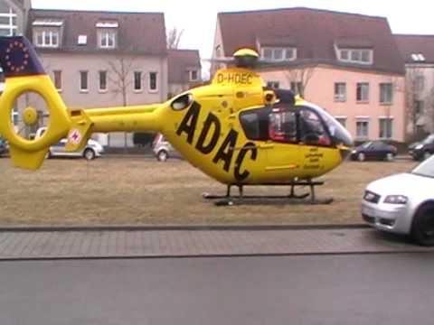Christoph 31 startet in Berlin Karow