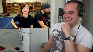 Cannibal Corpse - Evidence in the Furnace (Ukulele cover Rob Scallon Sarah Longfield) Reaction