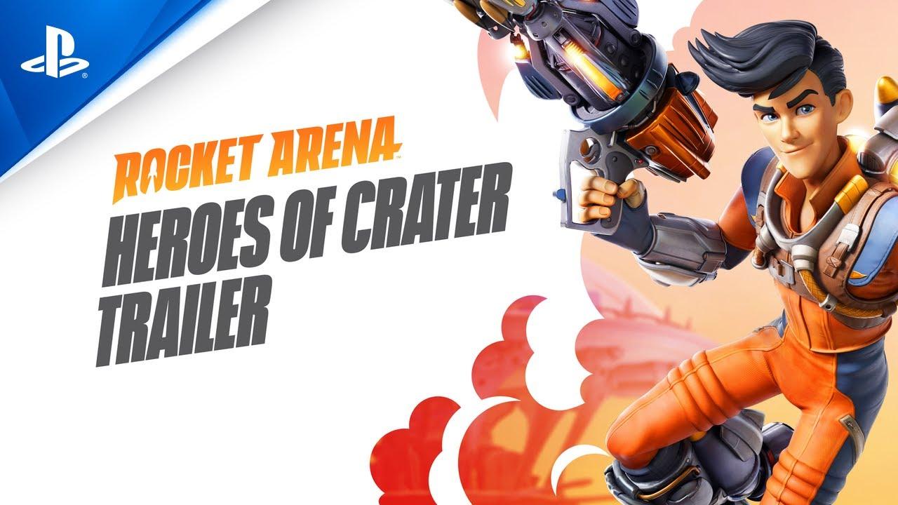 Rocket Arena - Heroes del Crater   Tráiler PS4 con subtítulos en ESPAÑOL   PlayStation España