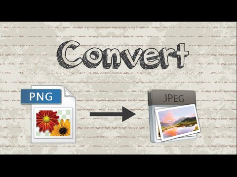How to convert PNG to JPG / JPEG