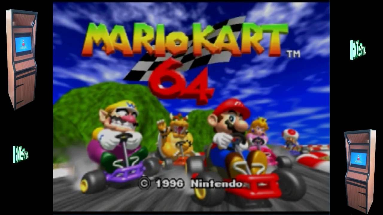 A Mushroom A Day For Mario Kart N64 Retropie Rom Pack gameplay