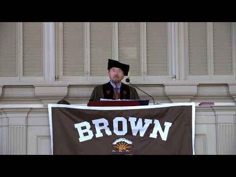 Baccalaureate Address: Robert Corrigan '57