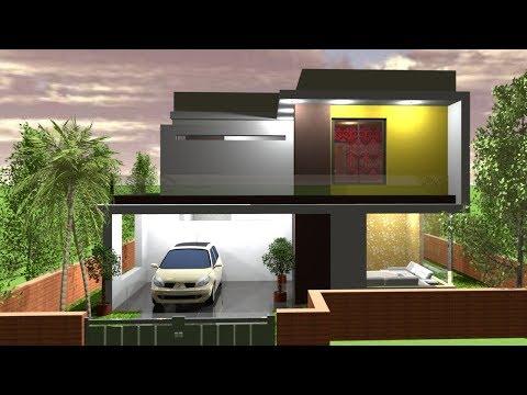 BUDGET HOUSE PLAN INTERIOR AND EXTERIOR TOUR || DUPLEX HOUSE || 3D HOUSE TOUR