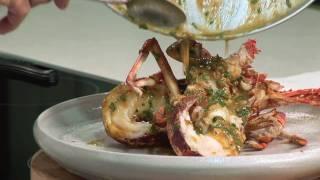 Tetsuya Wakuda's Recipe for Roasted Tasmanian Crayfish.