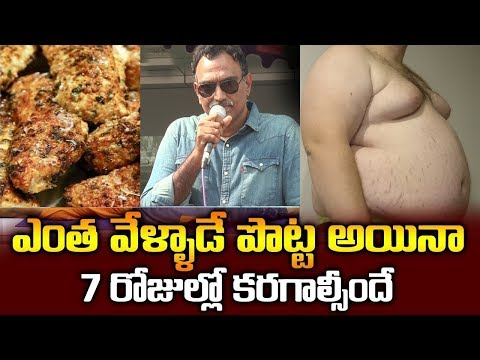 Veeramchineni Ramakrishna Diet for Reduce Belly Fat | Weight Loss Diet | SumanTV Organic Foods thumbnail