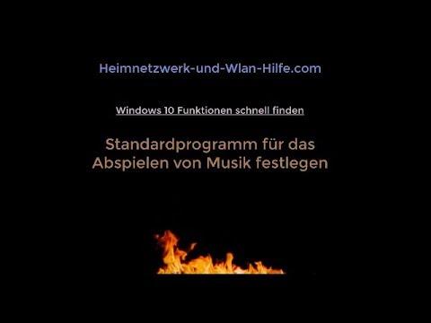 Windows 10 Musik-Player! Standard Musik-Player unter Windows 10 festlegen
