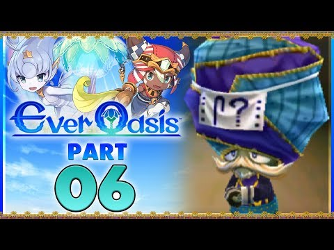 Ever Oasis - Part 6   Merchant Quest! [New Nintendo 3DS Gameplay]