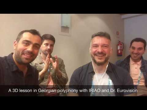 A 3D Lesson In Georgian Polyphony With IRIAO And Dr. Eurovision