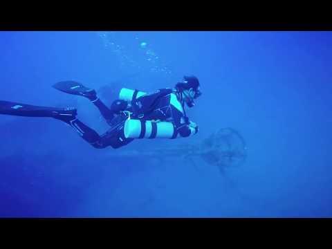 Tec Diving on Narcotico shipwreck, Gran Canaria