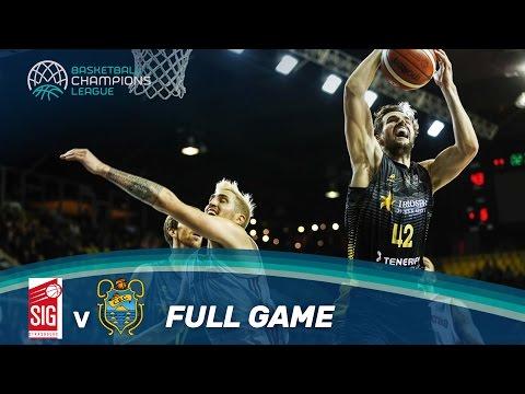 SIG Strasbourg v Iberostar Tenerife - Full Game - Basketball Champions League