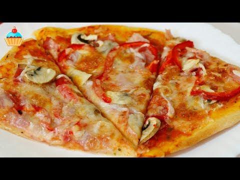 Тесто для итальянской пиццы на