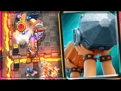 AWESOME BATTLE RAM DECK! • Clash Royale NEW CARD!