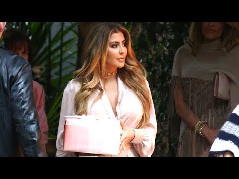 Larsa Pippen And LL Cool J Attend Khloe Kardashian's Baby Shower
