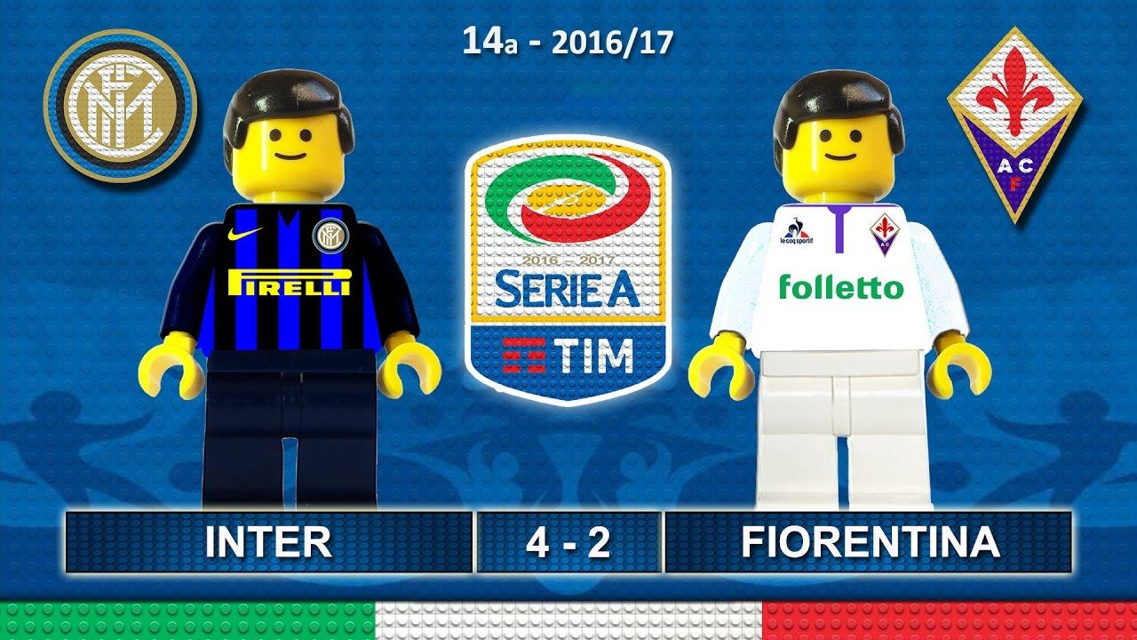 Download Inter vs Fiorentina 4-2 • Italian Serie A 2016/17 ( Film Lego Calcio ) Goals Highlights 28/11/2016