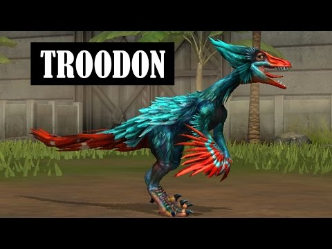 TROODON  LEVEL 40 - Jurassic World The Game