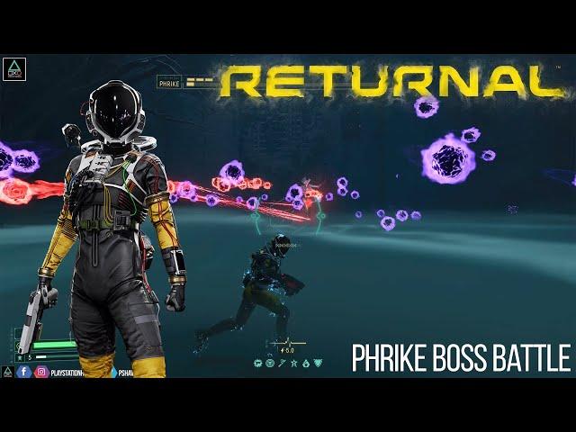Returnal - Phrike Boss Battle Gameplay