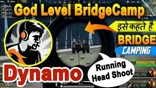Dynamo Gaming  God Level Bridge Camping Highlight  With Vechicle Running Headshot