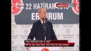 MHP Lideri Bahçeli'nin Duygusal Konuşması