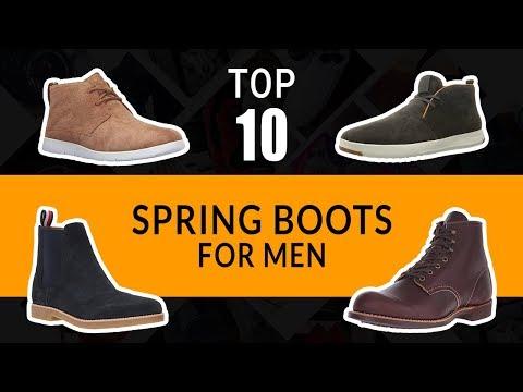 10 Best Men's Spring Boot    Best Shoes for Men