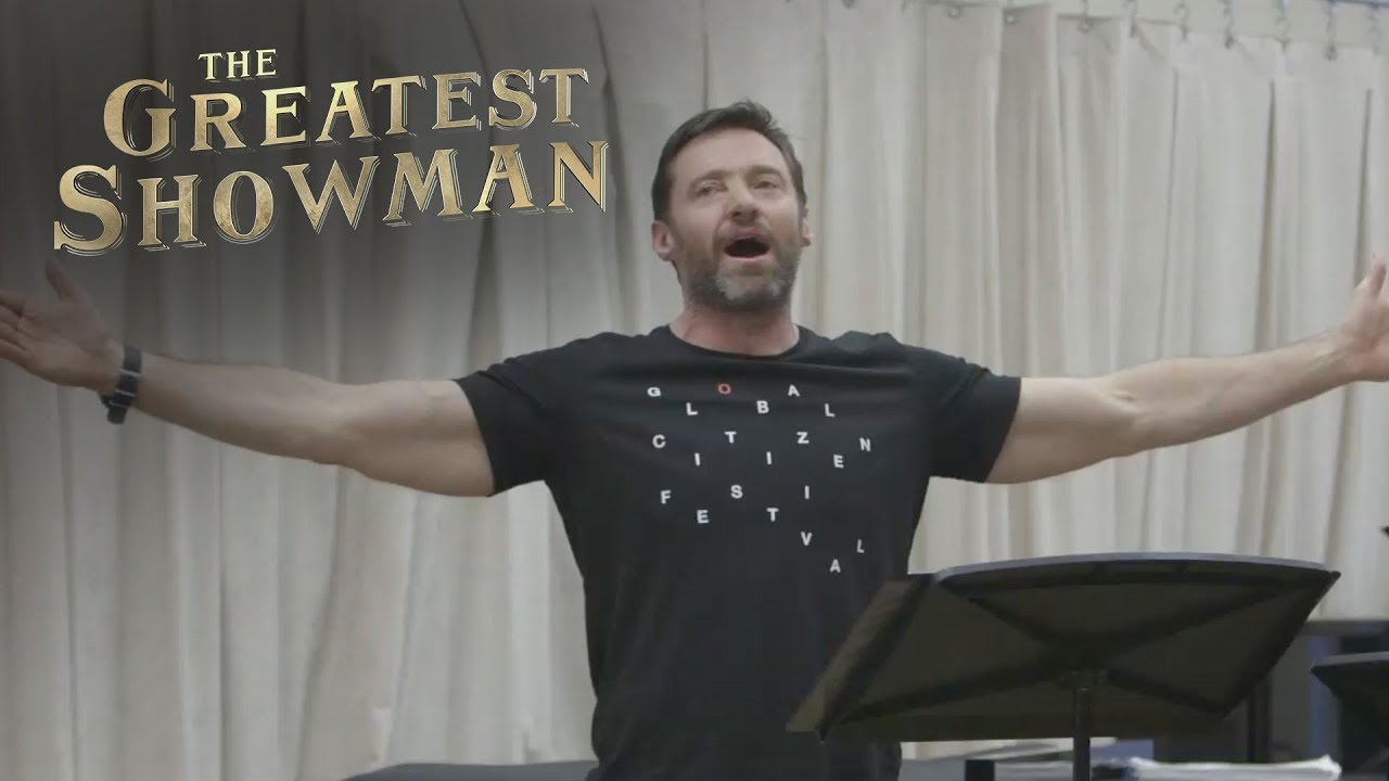 The Greatest Showman From Now On With Hugh Jackman 20th Century Fox Youtube