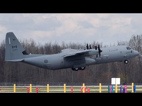 Hercules aircraft en route to help Fort McMurray