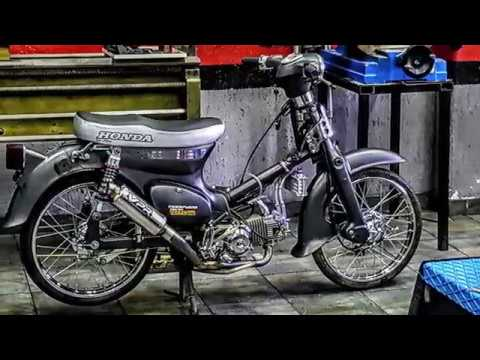 YAMAHA LB 50 CHAPPY 2T 6V MODIFIED 110cc 4T 12V LIFAN ENGINE - MODIFYING GARAGE SUPERMOTO SIFNEOS