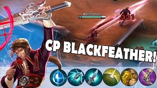 NEW HERO CP BLACKFEATHER BUILD | Vainglory BlackFeather Gameplay [Update 1.11]