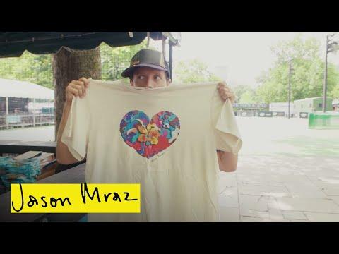 OrganicSound T-Shirt Recycling Program | Good Vibes Tour | Jason Mraz
