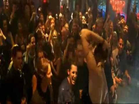 Coyote ugly strip scene