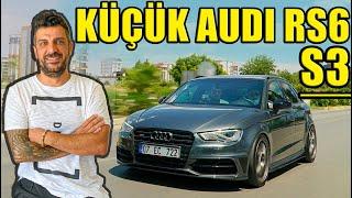 Küçük Audi RS6 | 480 Beygirlik Audi S3