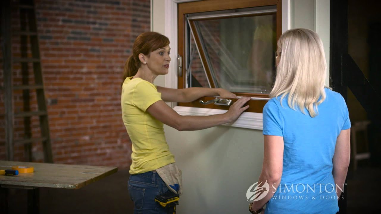 How To Replace The Sash On An Awning Window   YouTube