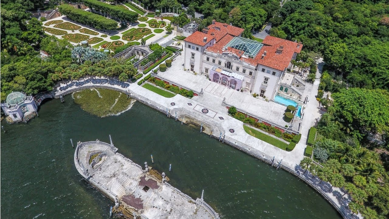 VIZCAYA MUSEUM AND GARDENS YouTube