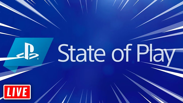PlayStation STATE OF PLAY Live REACTION | runJDrun