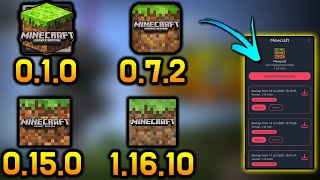 How to upgrade or downgrade Minecraft PE/BE EASILY [Android Only]