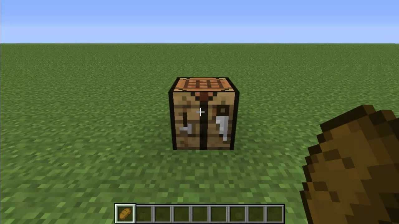 How to Make Bread in Minecraft - YouTube