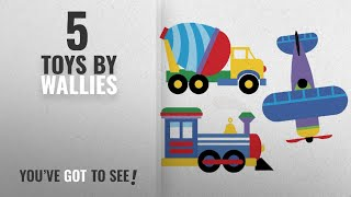Top 10 Wallies Toys [2018]: Wallies Wall Decals, Olive Kids Trains, Planes and Trucks Wall Stickers