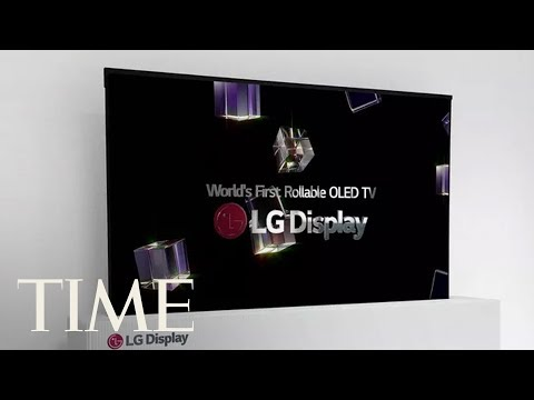 LG Display Unveils World's First Rollable Television At Consumer Electronics Show | TIME