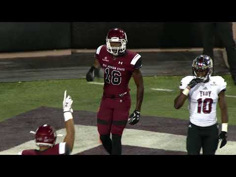 Troy Football Highlights - New Mexico State Game