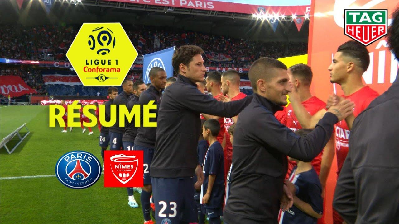 Paris Saint Germain Nimes Olympique 3 0 Resume Paris Nimes 2019 20 Youtube