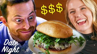 Home-Cooked Vs. $55 Fancy Burger Meal