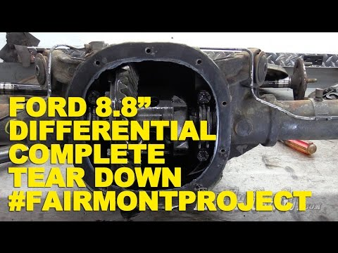"""Ford 8.8"""" Differential Complete Tear Down #FairmontProject"""