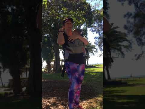 How to Back Carry in a Manduca Baby Carrier (Soft Structured Carrier)