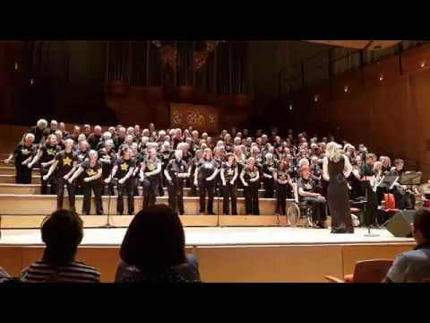 Rock Choir, The Bramall Birmingham 15/07/2018. Don't leave me this way with live band