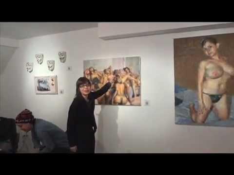 GalleryBeast w/ Judy Rifka @ Klughaus w/ artist Jesse Edwards