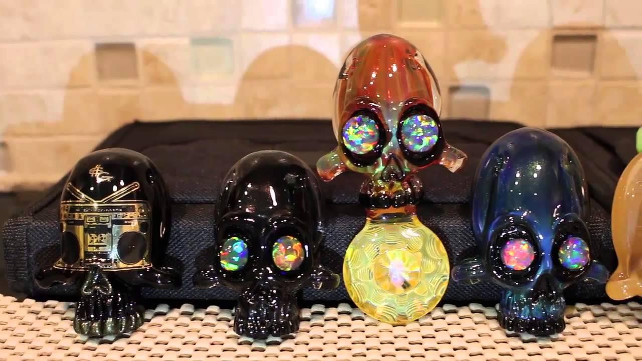 Boro Glass Pendants For Sale