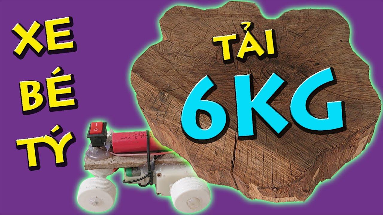 Anh Già Chế Xe Tải Quái Vật Mini Siêu Mạnh | DIY Car Toy | Thái Già Vlogs
